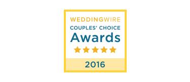 WeddingWire Couples Choice Award Des Moines Iowa